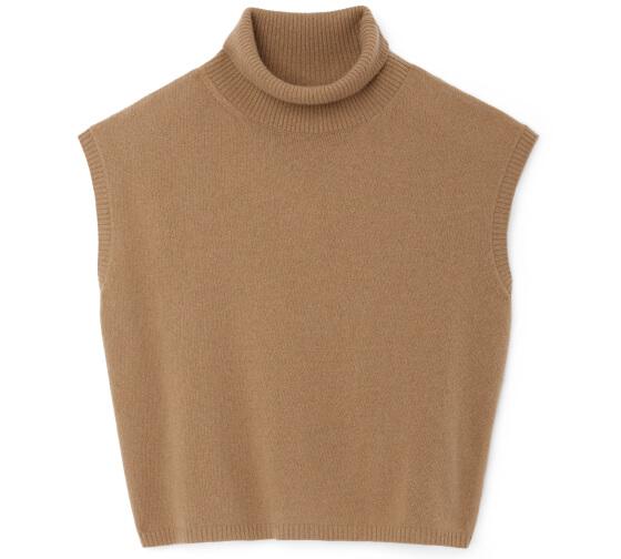 Juliet Mock-Neck Sweater Tank