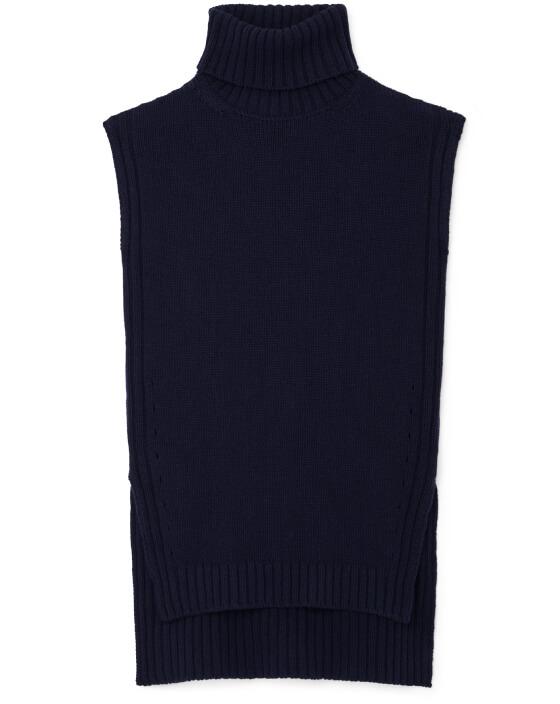 Tia Sleeveless Turtleneck Sweater