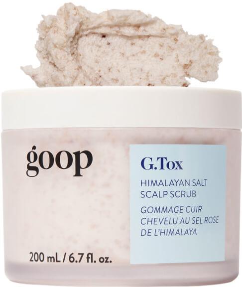 Champú exfoliante para el cuero cabelludo con sal del Himalaya de goop Beauty G.Tox