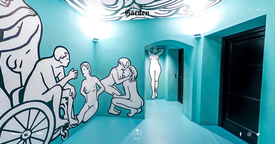 VIRTUAL TOURS OF GUCCI GARDEN