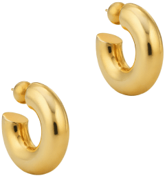 Sophie Buhai Small gold donut hoops