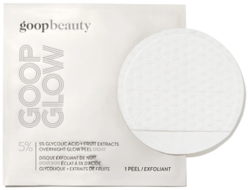 goop Beauty GOOPGLOW 5% Glycolic Acid Overnight Glow Peel Light