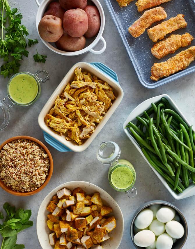 PREP + RALLY meal plan