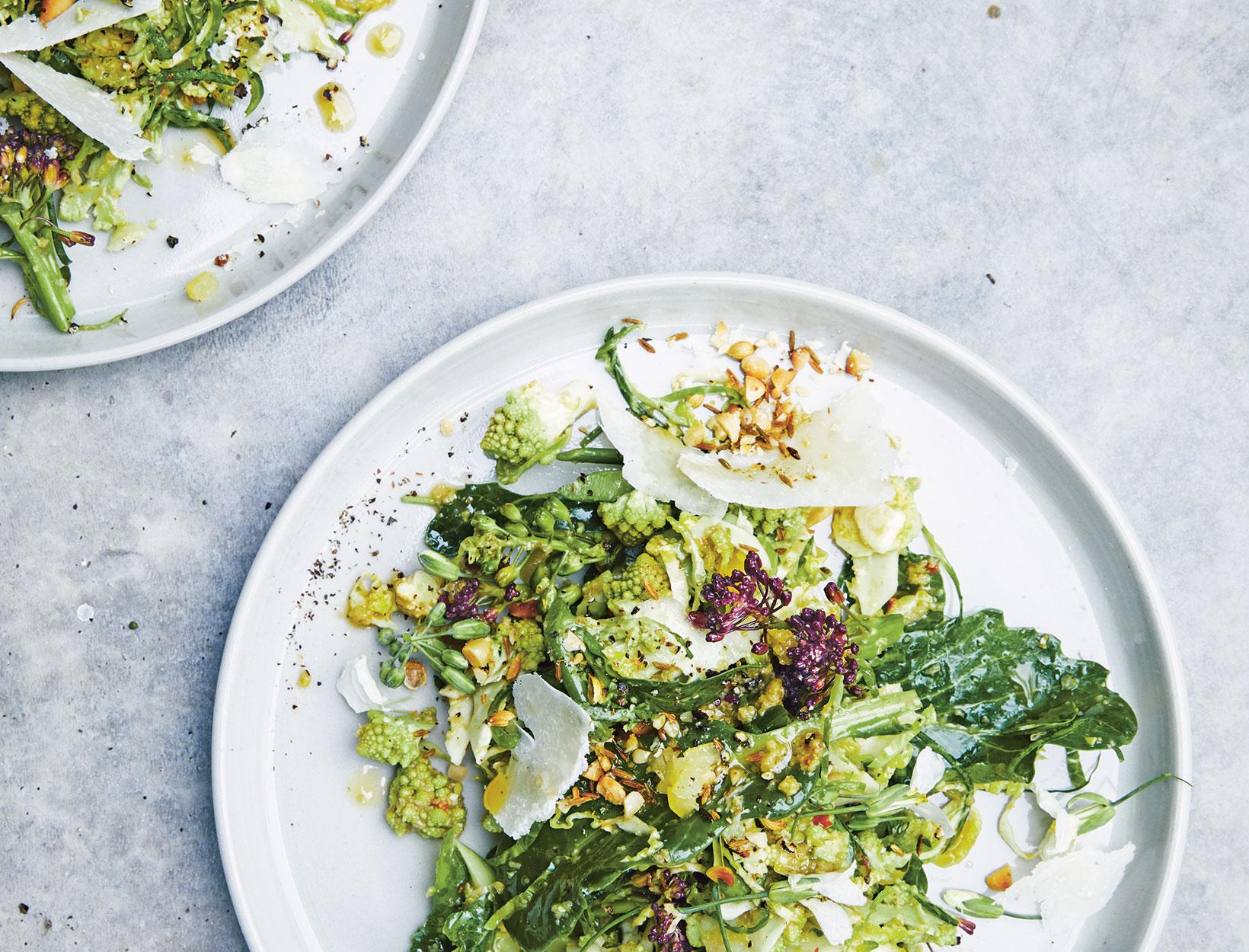 Shaved Brassica Salad