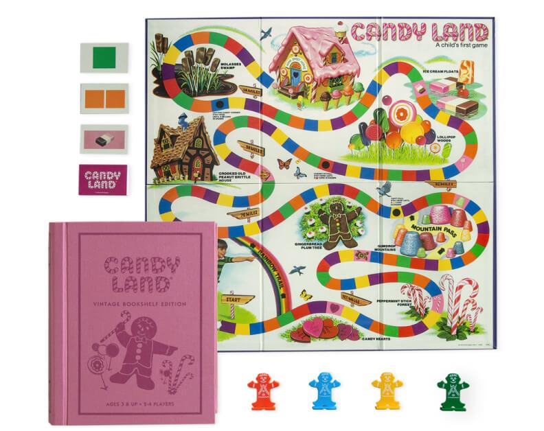 WS Game Company  CANDY LAND VINTAGE BOOKSHELF EDITION