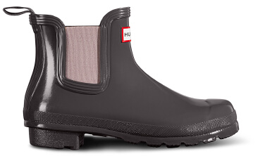 Hunter Gloss Chelsea Boot
