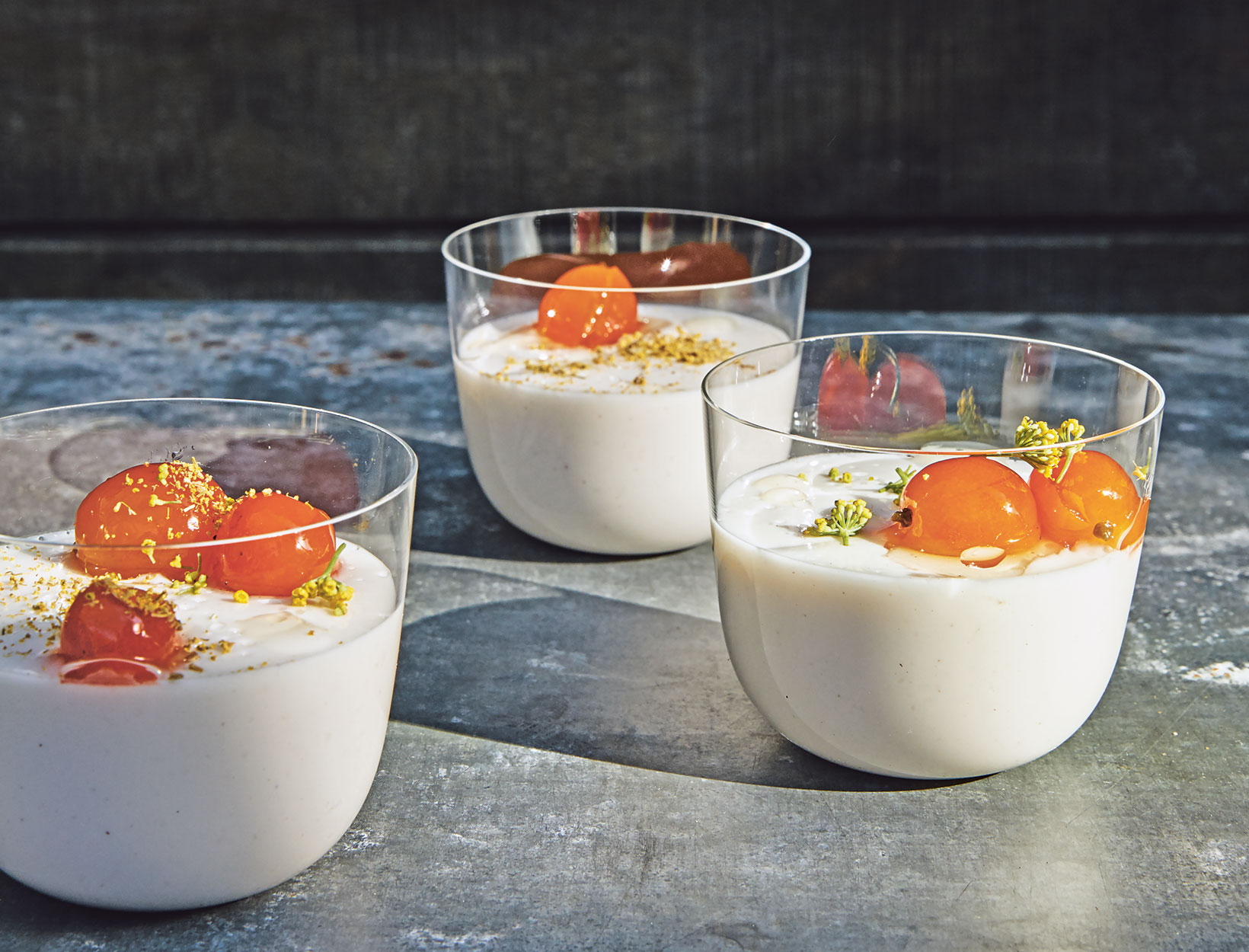 Nut Milk Panna Cotta