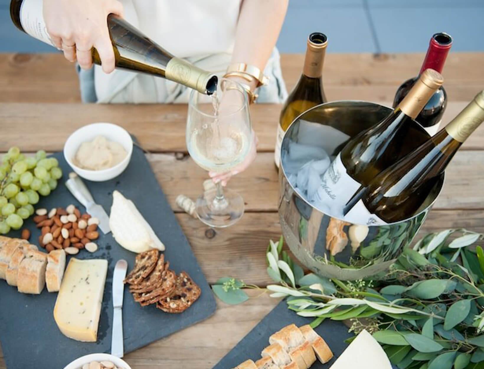 Backyard Wine Tasting