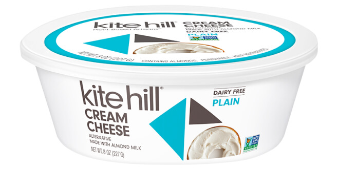 Kite Hill Cream Cheese Alternative