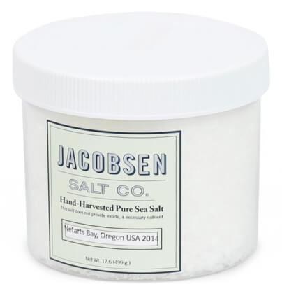 Jacobsen's Salt Co CHEF JAR PURE FLAKE FINISHING SALT