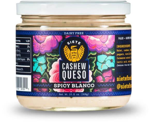 Siete Spicy Blanco Cashew Queso