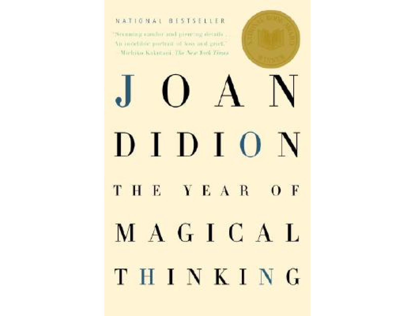<em>The Year of Magical Thinking</em> by Joan Didion (with a side of <em>Wonder Boys</em>)