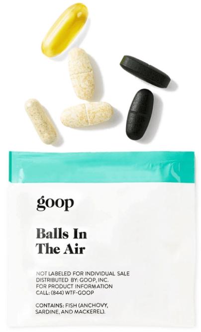 goop WellnessBALLS IN THE AIR