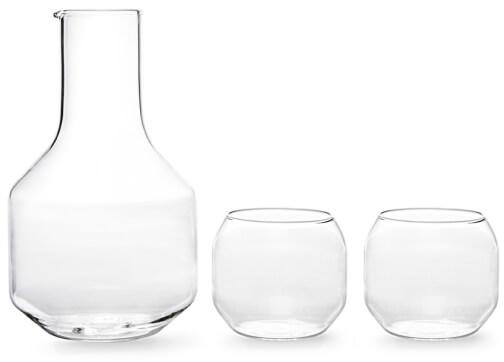 R+D Design Lab CARAFE & GLASSES SET