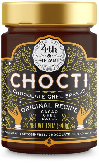 4th & Heart Chocti Chocolate Ghee Spread