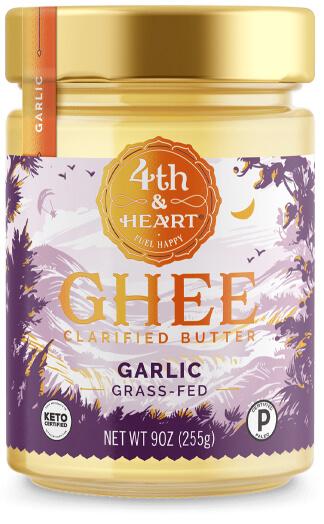 4th & Heart California Garlic Ghee