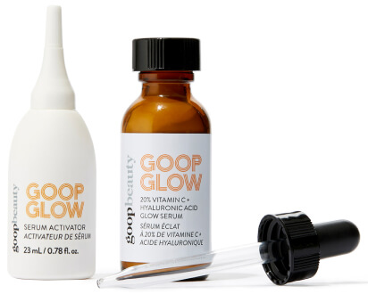 goop Beauty GOOPGLOW 20% VITAMIN C + HYALURONIC ACID GLOW SERUM