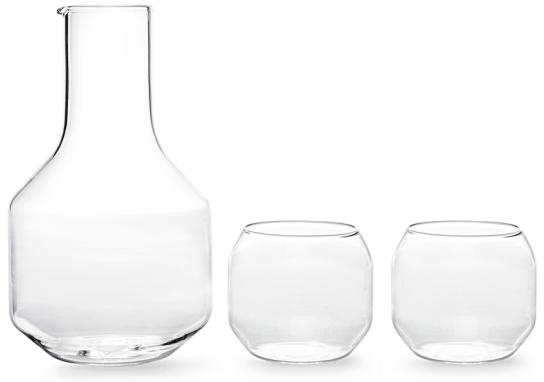 R+D Design Lab Velasca Carafe and Glasses Set