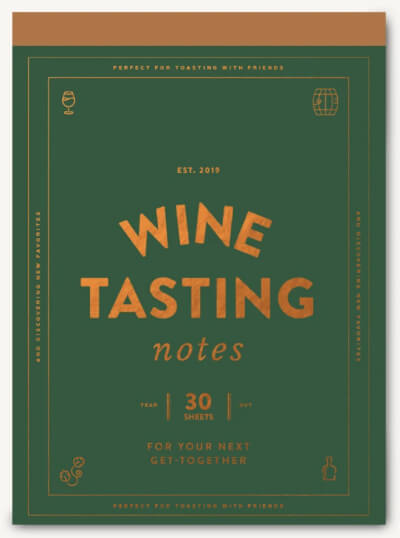 Chronicle Books WINE TASTING NOTES