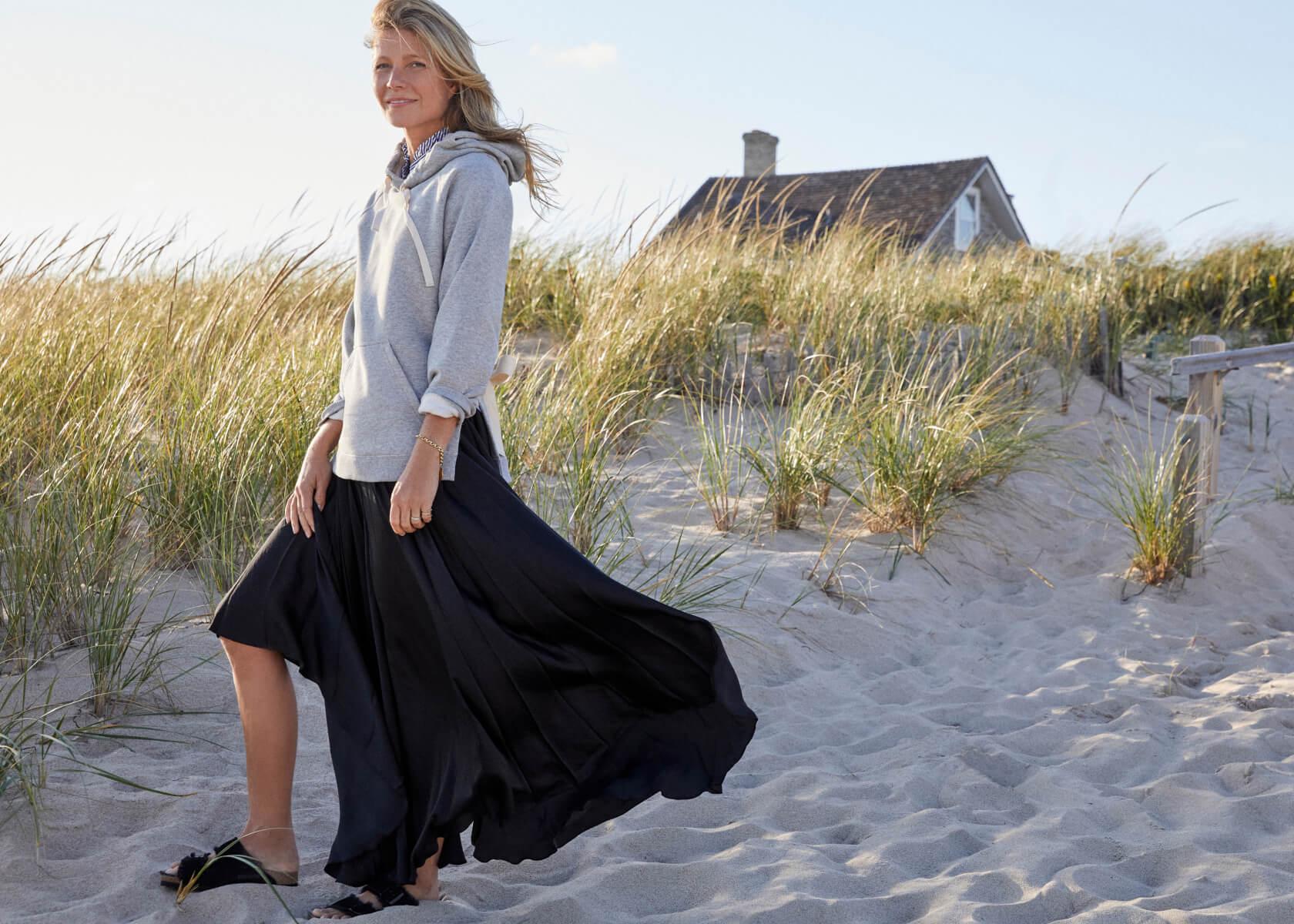 Lexi Tie-Back Sweatshirt with ERIN RUFFLE-NECK BLOUSE
