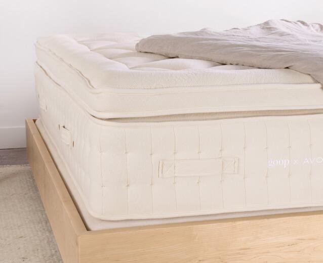 goop x avocado mattress detail image