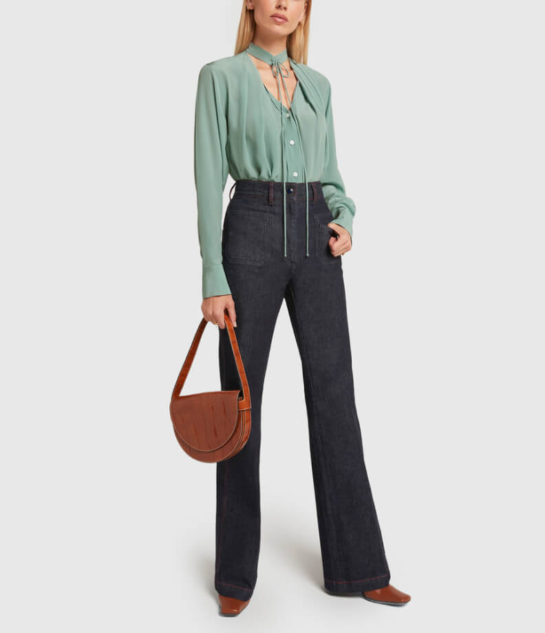VICTORIA BECKHAM SHIRT and JEANS