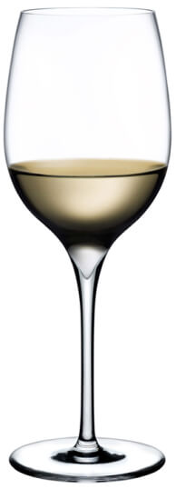 Nude Glass White Wine Glass, SET of 2