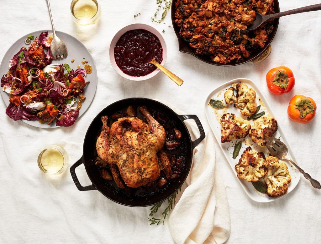 Un menú de Acción de Gracias optimizado