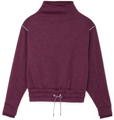 PUMA Forever Luxe Mock Neck