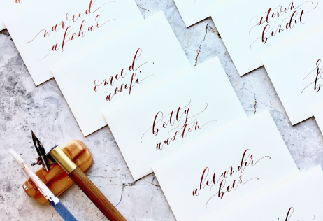 Angelique Ink Calligraphy Kit for Handmade Place Cards