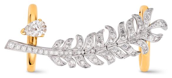 Plume de Chanel ring