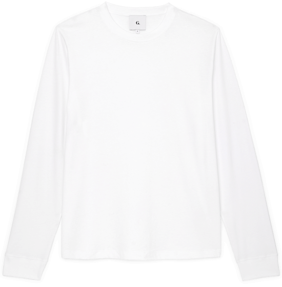 Israel Organic-Cotton Long-Sleeve T-Shirt
