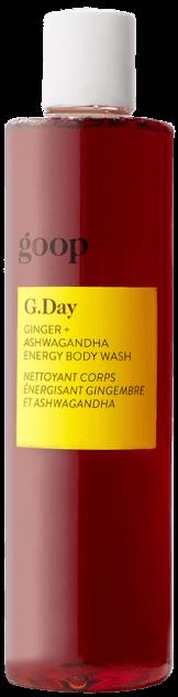goop Beauty G. Day Ginger + Ashwagandha Energy Body Wash