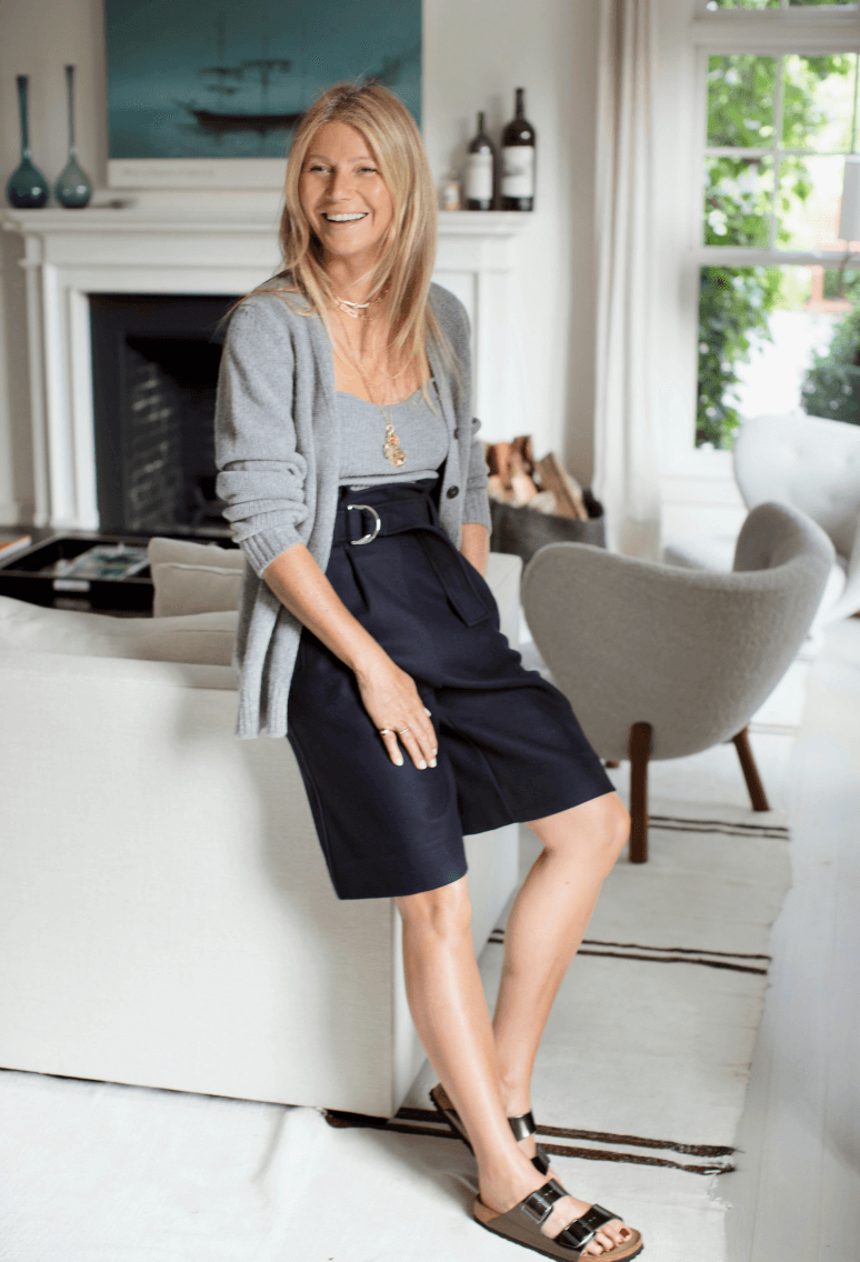 Gwyneth wearing G. label