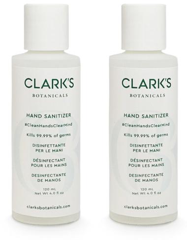 Clarks Botanicals HAND SANITIZER