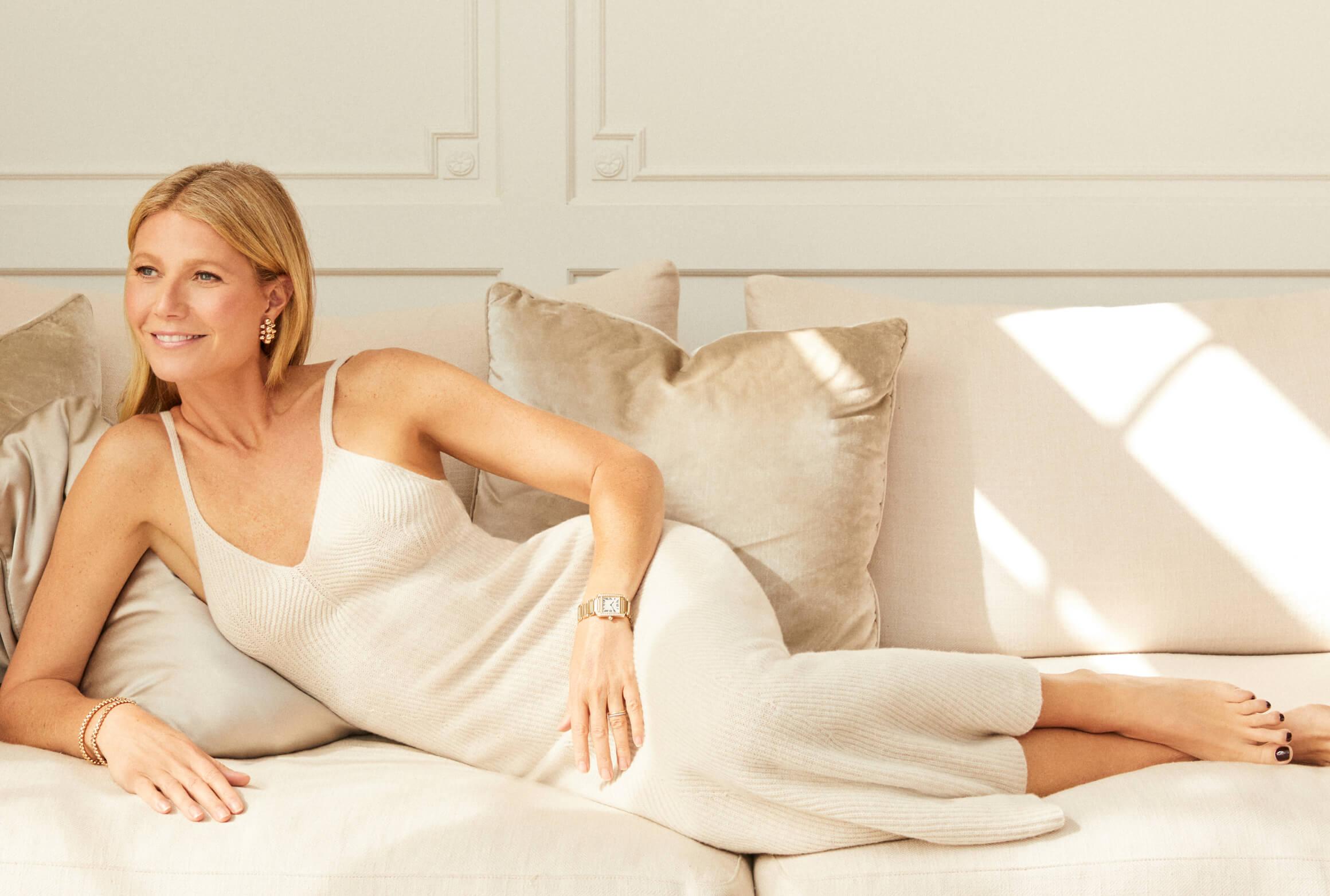 Gwyneth lounging
