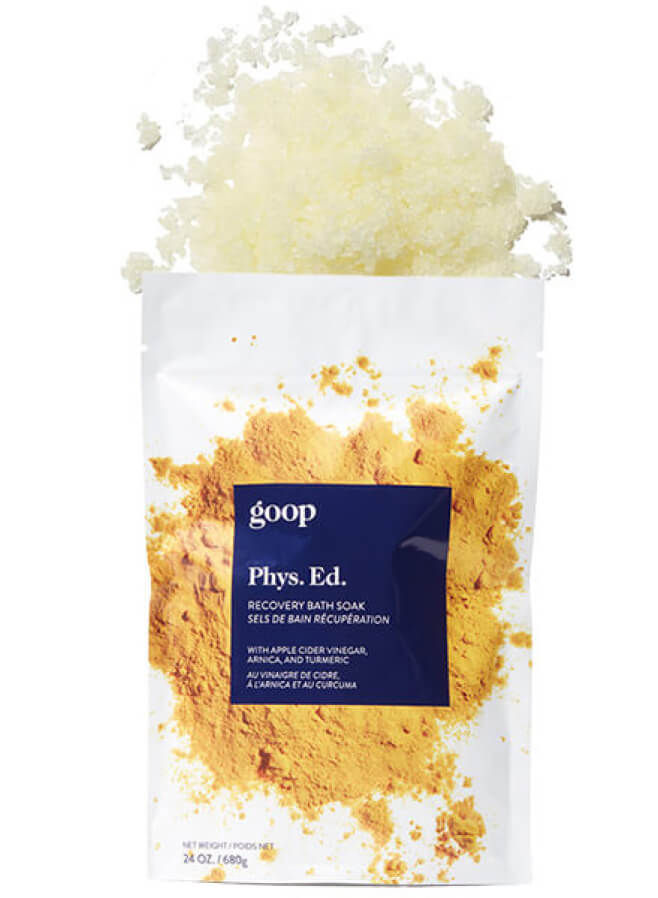goop Beauty Phys. Ed. Recovery Bath Soak