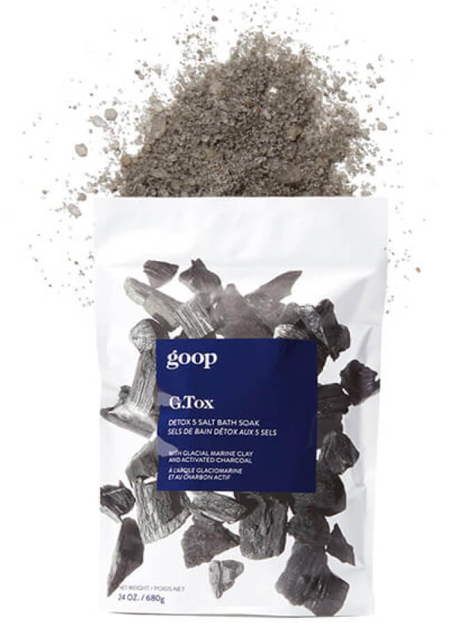 goop Beauty G.Tox Detox 5 Salt Bath Soak