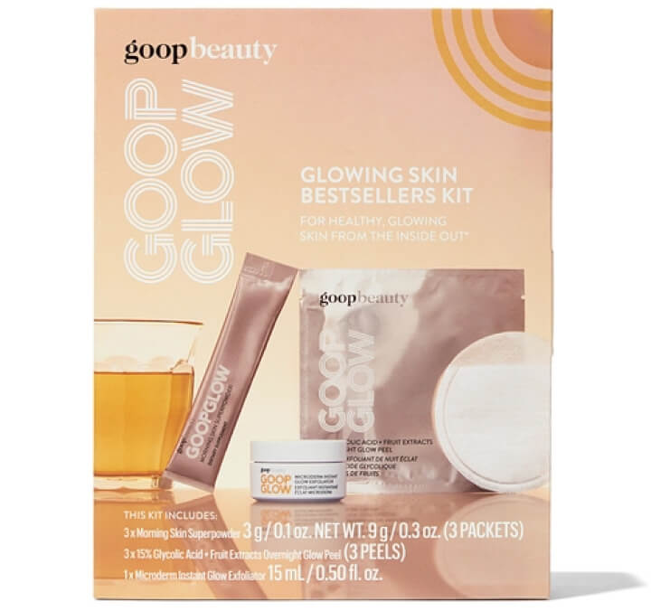 goop Beauty Glowing Skin Bestsellers Kit