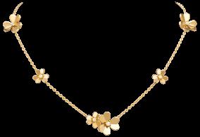 Van Cleef & Arpels frivole necklace