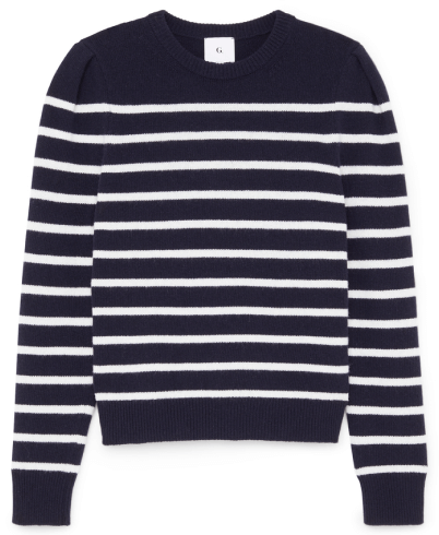 G. Label Antoniadis Puff- Sleeve Mariner Sweater
