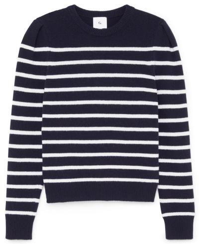 G. Label Antoniadis Puff- Sleeve Mariner Sweater