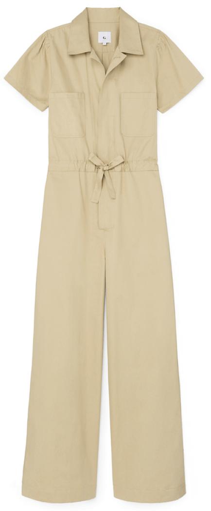 G.Label Christina Wide-LEg Shirt Jumpsuit