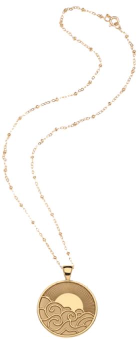 Jane Win x goop necklace