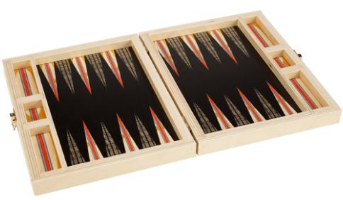 Wolfum backgammon set