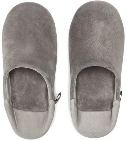 MorihataWashable Leather Room Shoes