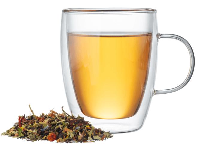 Lemon and fruit teas
