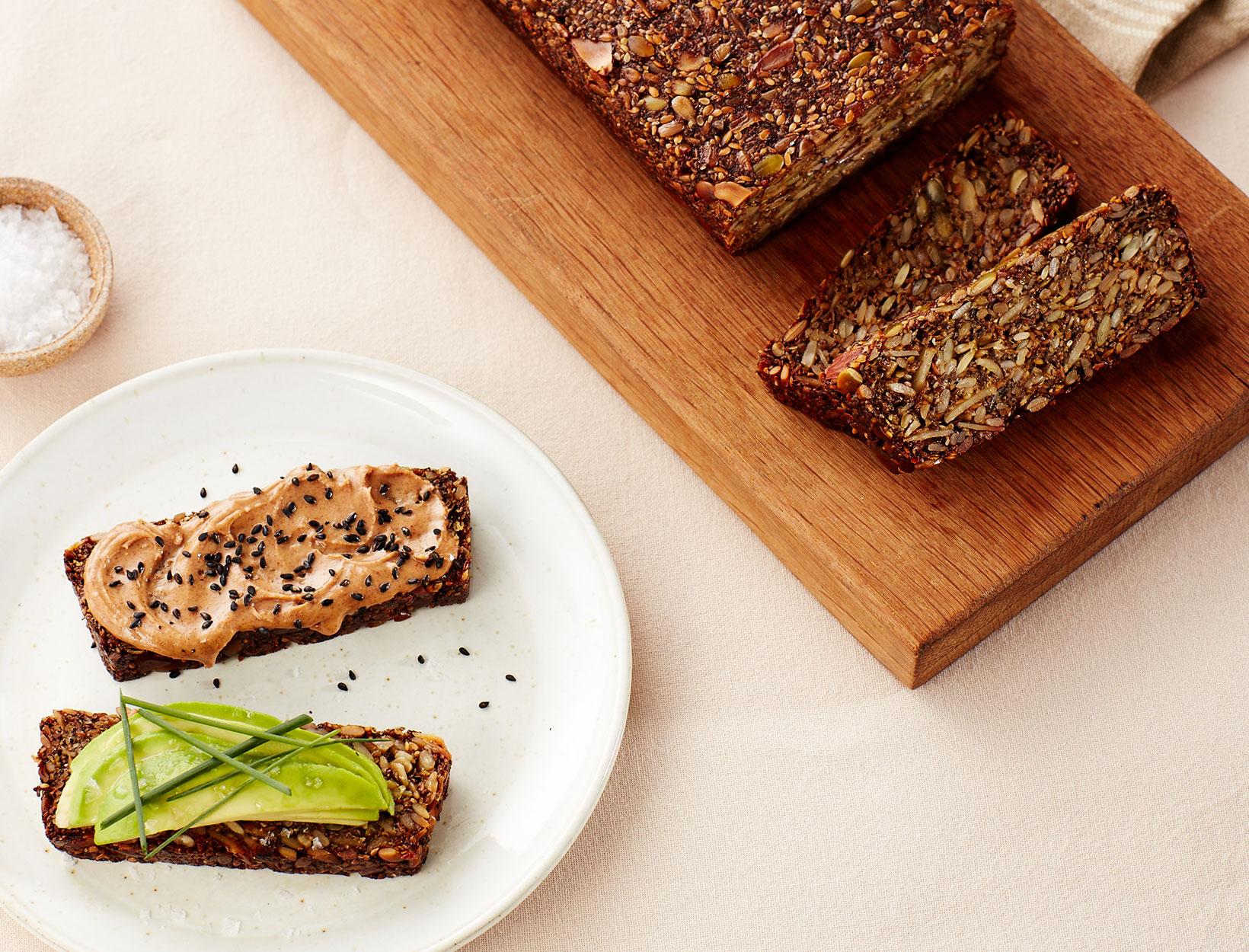 Grain-Free Seed Bread