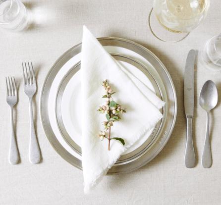 MATCH Pewter Salad plate