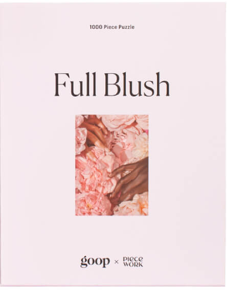 Piecework Puzzles goop-Exclusive Full Blush Puzzle
